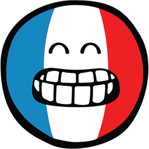 Smiley French Flags messages sticker-3