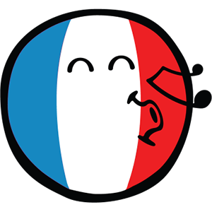 Smiley French Flags messages sticker-4