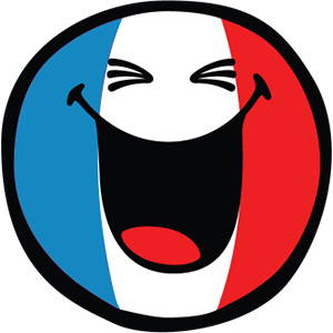 Smiley French Flags messages sticker-1