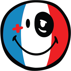 Smiley French Flags messages sticker-6