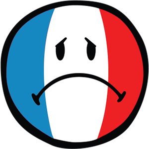 Smiley French Flags messages sticker-10