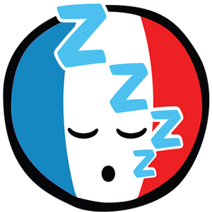 Smiley French Flags messages sticker-11