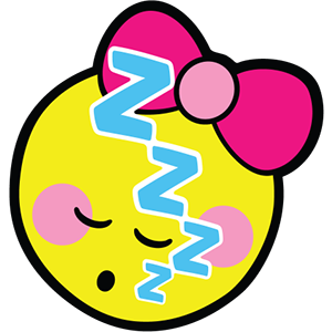 Smiley Girl Stickers messages sticker-11