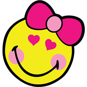 Smiley Girl Stickers messages sticker-9
