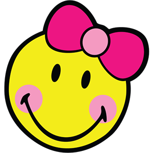 Smiley Girl Stickers messages sticker-0