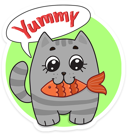 Funny cats - Cute stickers messages sticker-2