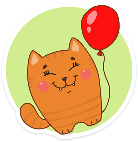 Funny cats - Cute stickers messages sticker-10