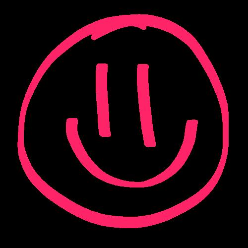 スマイリー Pink Edition messages sticker-0