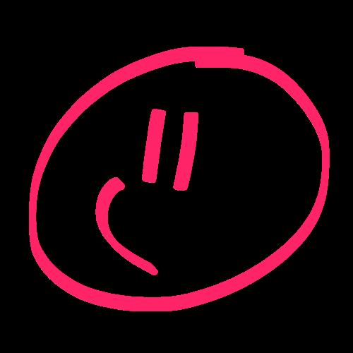 スマイリー Pink Edition messages sticker-2