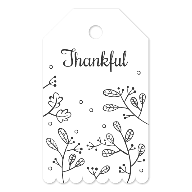 Thank You Labels Set in Minimal & Vintage Style messages sticker-7
