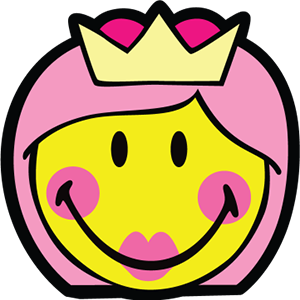 Princess Smiley Pack messages sticker-0