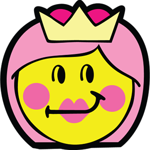 Princess Smiley Pack messages sticker-2