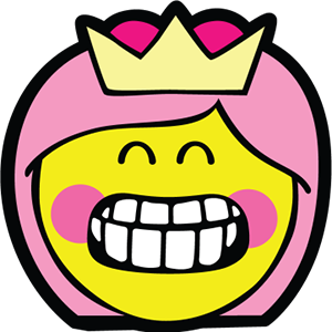 Princess Smiley Pack messages sticker-3