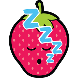 Smiley Strawberries messages sticker-11