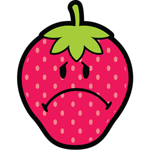 Smiley Strawberries messages sticker-10
