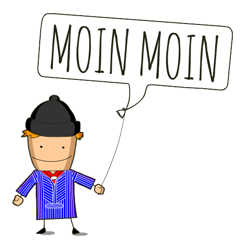 Moin Moin! messages sticker-9