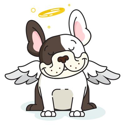 BulldogMoji - Bulldog Emojis & Stickers messages sticker-2