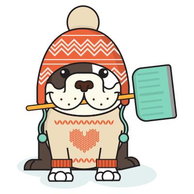 BulldogMoji - Bulldog Emojis & Stickers messages sticker-8