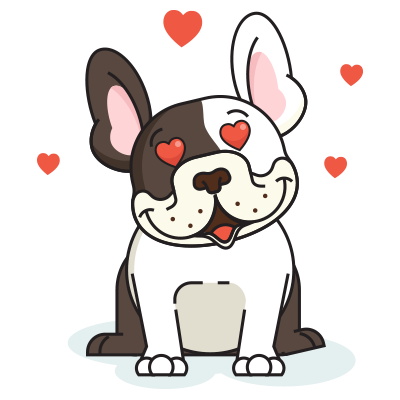 BulldogMoji - Bulldog Emojis & Stickers messages sticker-4
