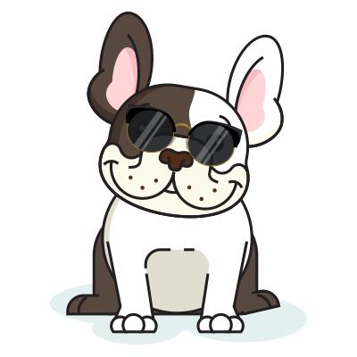 BulldogMoji - Bulldog Emojis & Stickers messages sticker-5
