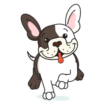 BulldogMoji - Bulldog Emojis & Stickers messages sticker-6