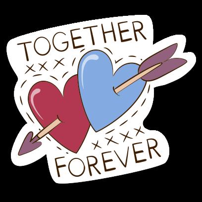 Love Stickers + Quotes - 80's Vintage & Retro Set messages sticker-7