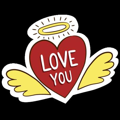 Love Stickers + Quotes - 80's Vintage & Retro Set messages sticker-8