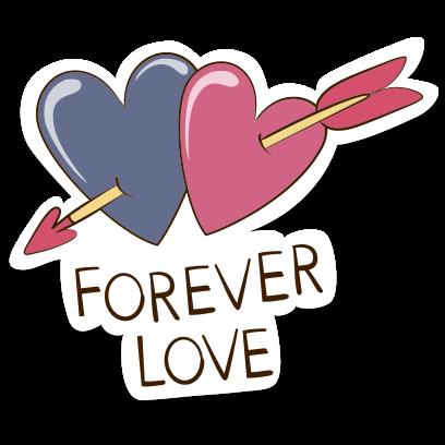 Love Stickers + Quotes - 80's Vintage & Retro Set messages sticker-6