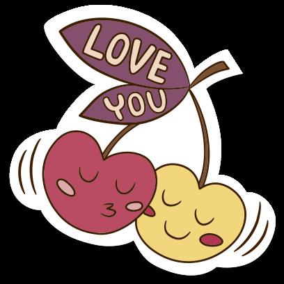 Love Stickers + Quotes - 80's Vintage & Retro Set messages sticker-3