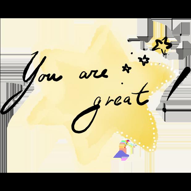 Hand Drawn Motivational Stickers messages sticker-1
