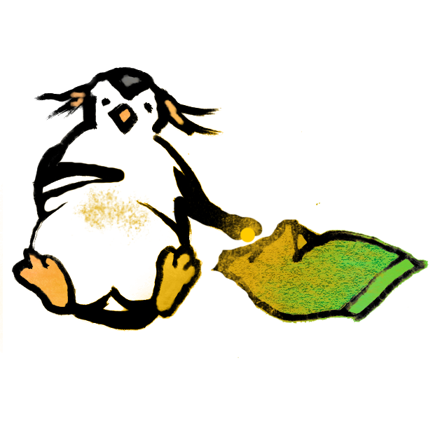 PenguinArt Pack messages sticker-9