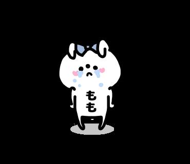 Momo-chan Sticker messages sticker-2