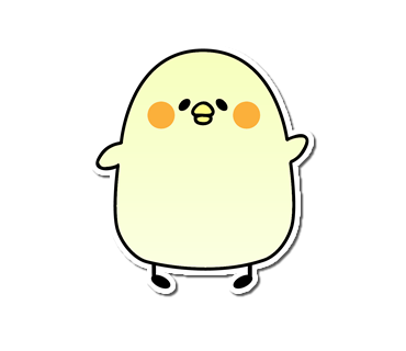 Seal of the chick messages sticker-5