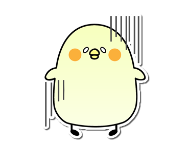 Seal of the chick messages sticker-10