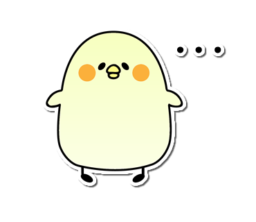 Seal of the chick messages sticker-0