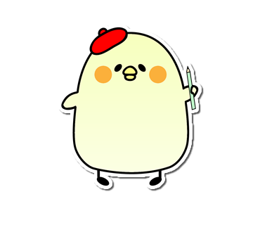 Seal of the chick messages sticker-6