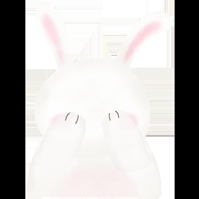 BunnyFace messages sticker-4