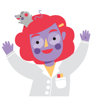 Vera, the Scientist messages sticker-0