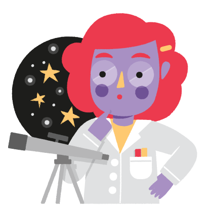 Vera, the Scientist messages sticker-4