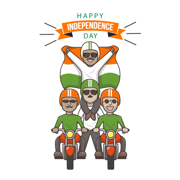India's Independence Day messages sticker-5