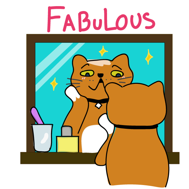 Funny Cat Emoji Stickers messages sticker-9