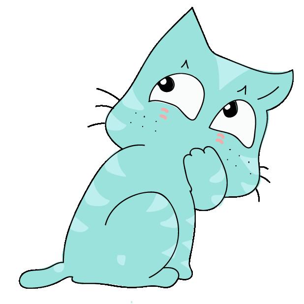 Funny Cat Emoji Stickers messages sticker-2