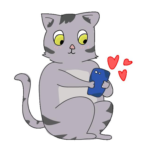 Funny Cat Emoji Stickers messages sticker-7