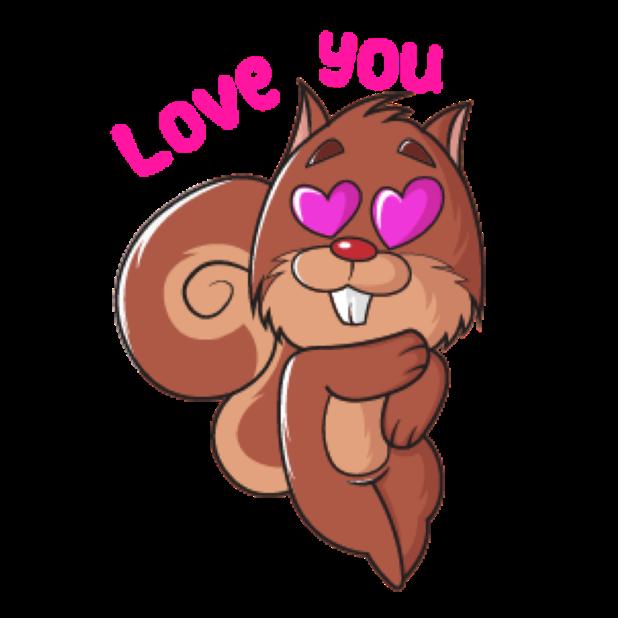 Squirrel Stickers (Wafer) messages sticker-10