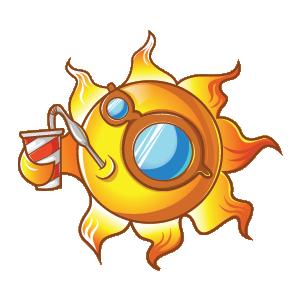 Summer Stickers (Wafer) messages sticker-0