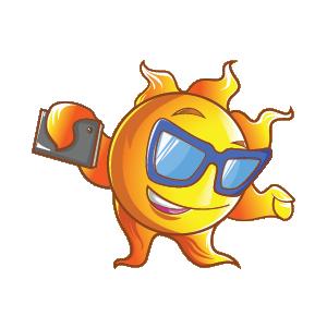 Summer Stickers (Wafer) messages sticker-4