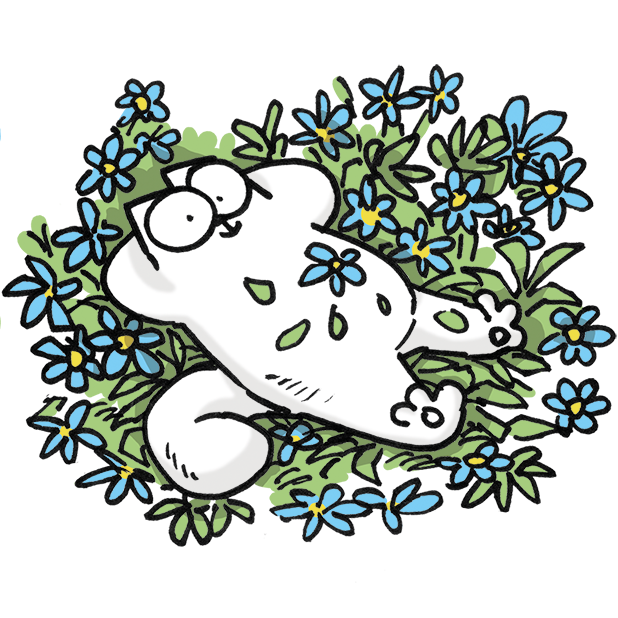 Simon's Cat Dash messages sticker-0