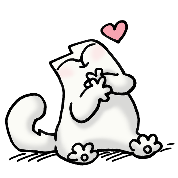 Simon's Cat Dash messages sticker-3