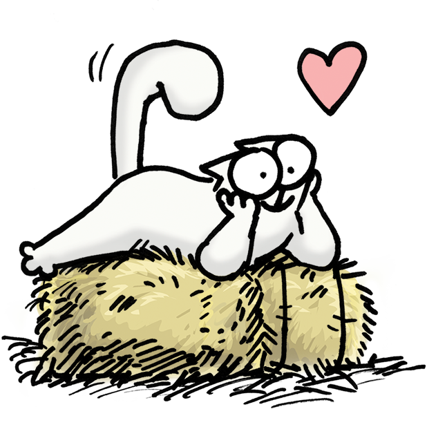 Simon's Cat Dash messages sticker-8