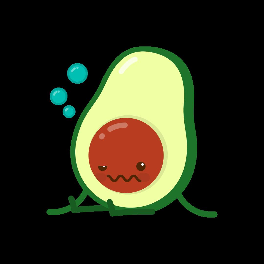 Avocado Life messages sticker-9